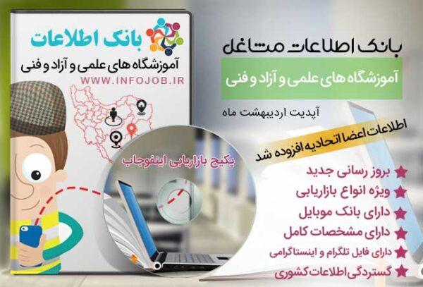 آموزشگاه های علمی آزاد کشور